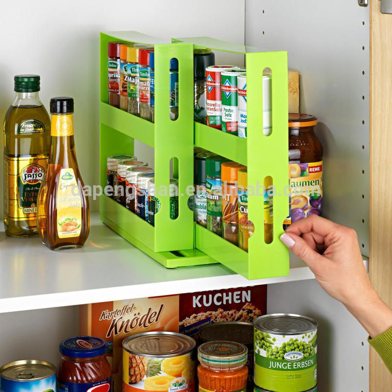 Buy Slide Out Cabinet Storage Rack Plastic In China On Alibaba.com