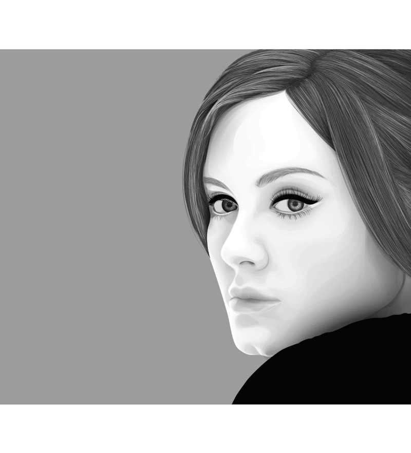 Adele by nellies.deviantart.com
