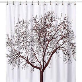 Dark Brown Fabric Shower Curtain Brown Shower Curtain Fancy