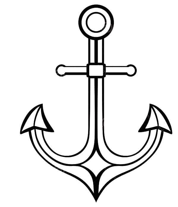 Pin On Anchor Coloring Pages