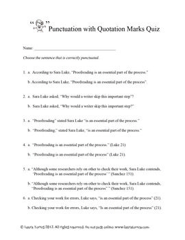Essays On High School Punctuation With Quotation Marks Rules  Quiz Quotation Marks Rules Essay  Outline Format Grammatically Help Writing Essay Paper also Essays On Science Punctuation With Quotation Marks Rules  Quiz  School Ideas  Health Needs Assessment Essay
