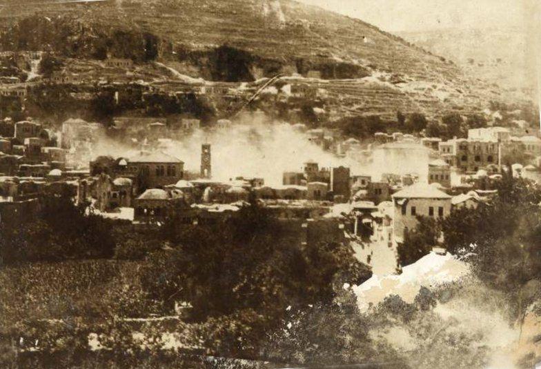 نابلس نابلس Nablus Late 19th Early 20th C 10 1927 Earthquake Press Photo 3 75283 فلسطين في الذاكرة Palestine History Palestine Old Pictures