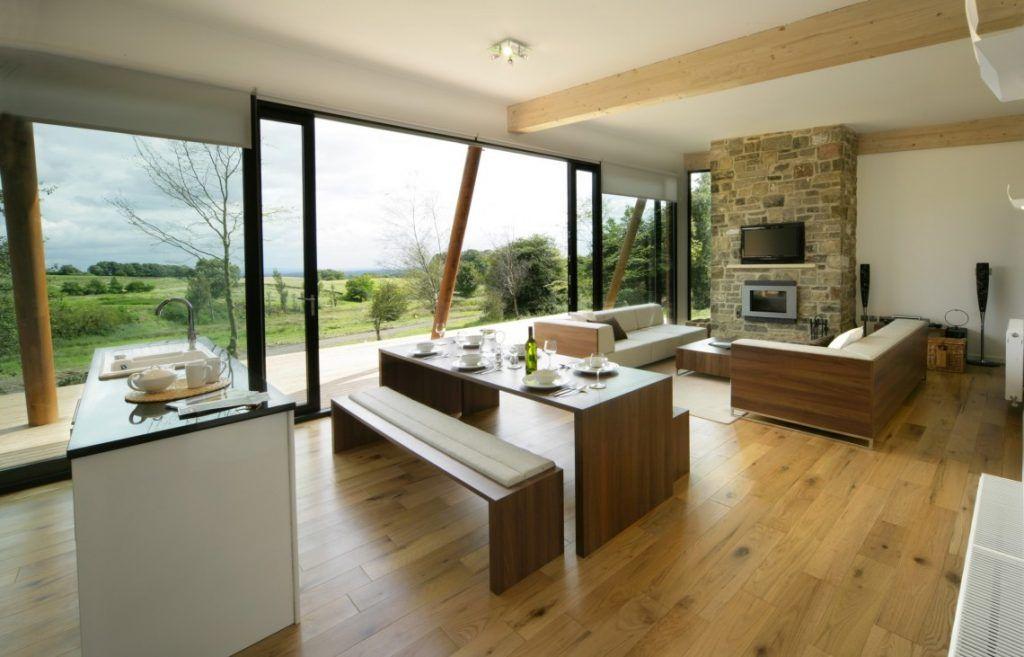 Dapur Dan Ruang Makan Terbuka | Desain ruang keluarga ...