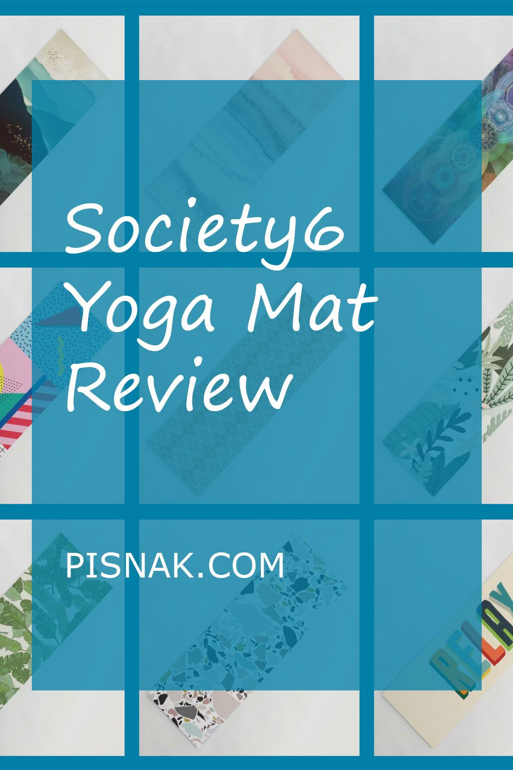 New Society6 Yoga Mat Review Relax With Style 2020 In 2020 Yoga Mat Reviews Yoga Mat Yoga