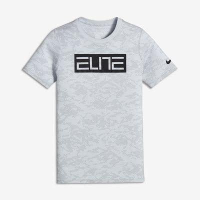 0593d561 Nike Dry Elite Big Kids' (Boys') Basketball T-Shirt | Under armour ...