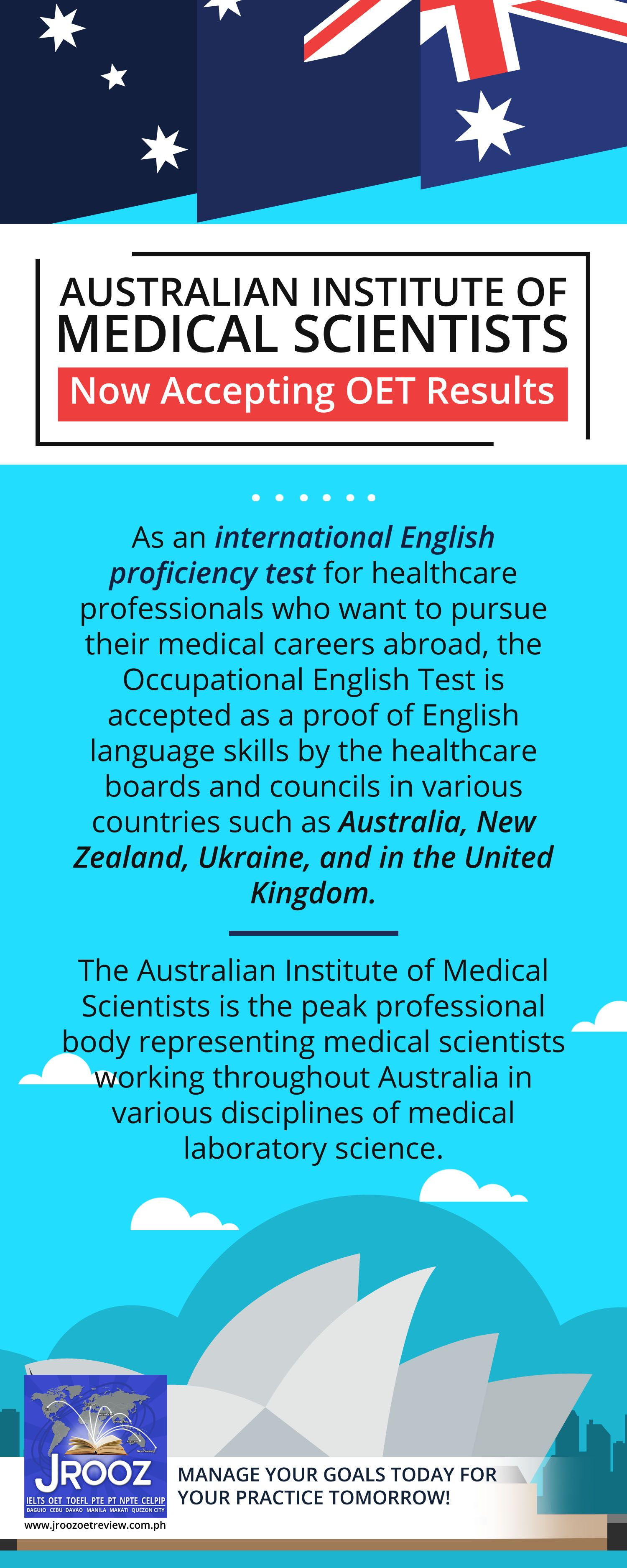 Australian Institute of Medical Scientists Now Accepting