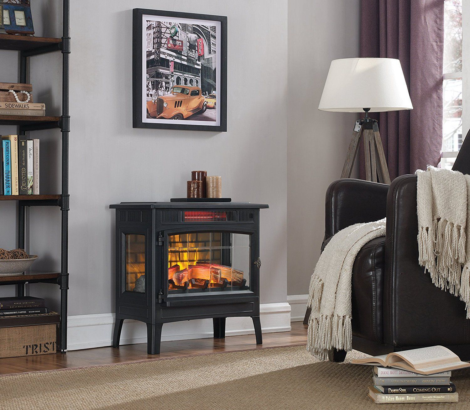 The 7 Best Electric Fireplace Heaters Of 2019 Cute Homes And