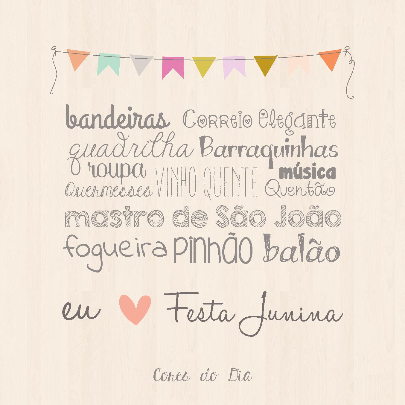 Eu Amo Festa Junina Frases Festa Festa Junina Chic E