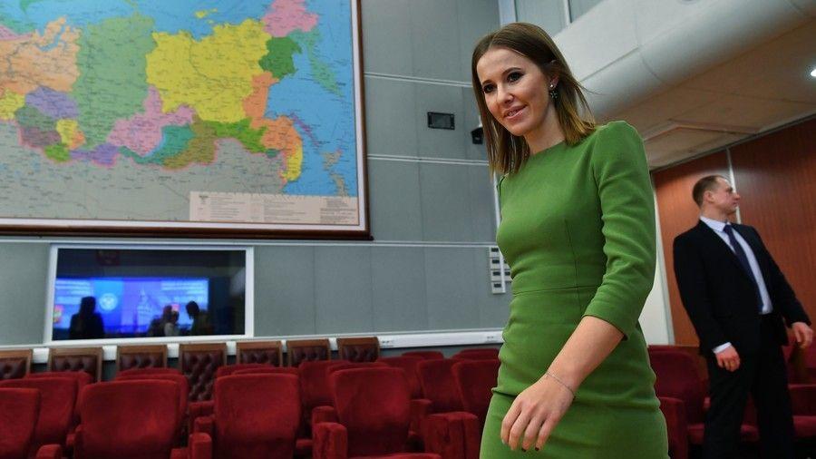 Glossy Magazine Editor And Former ItGirl Ksenia Sobchak Has