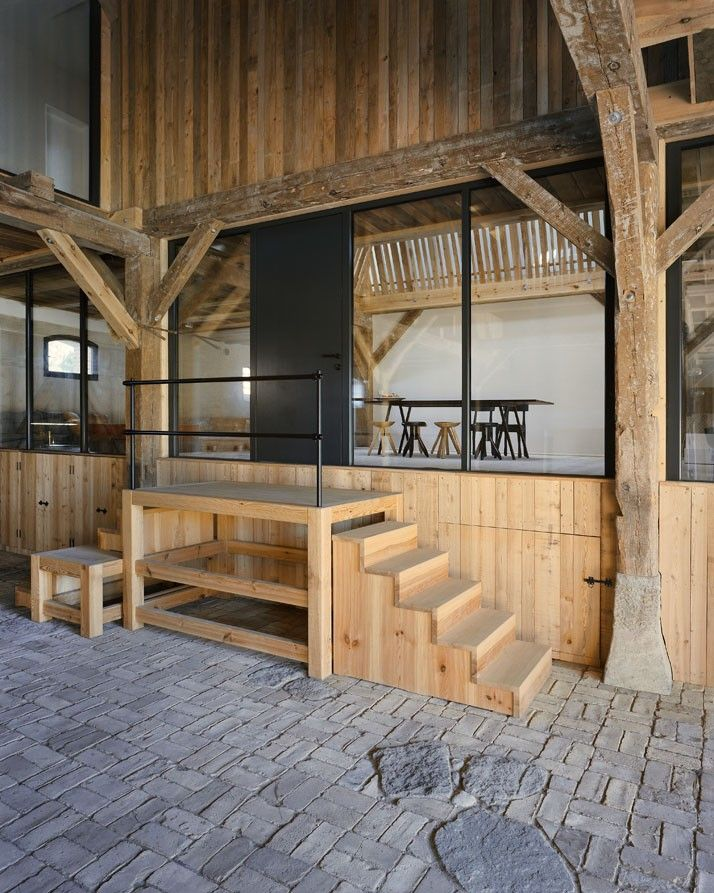 German barn conversion by Thomas Kroger Architekt