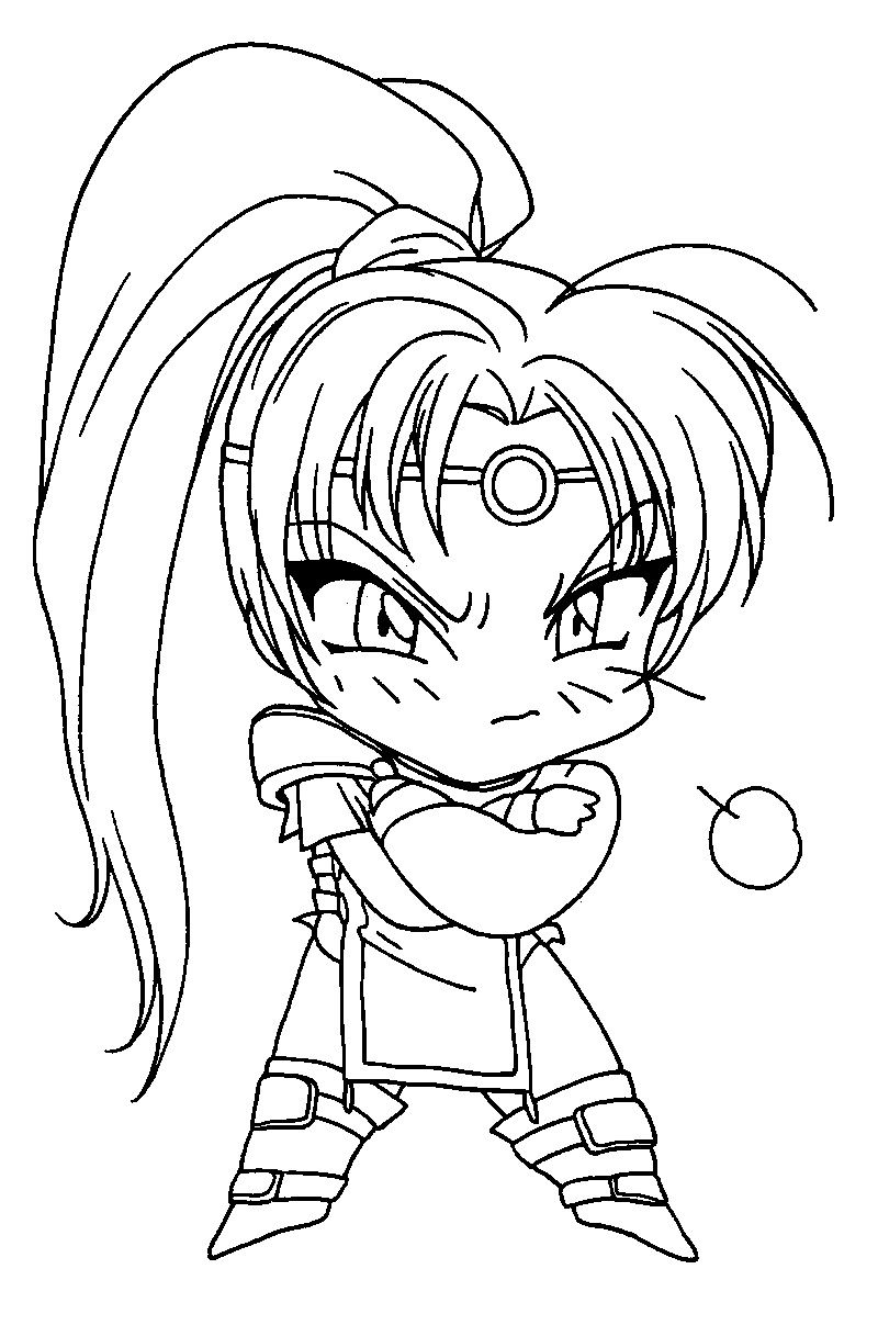 magic knight rayearth coloring book pages pinterest magic