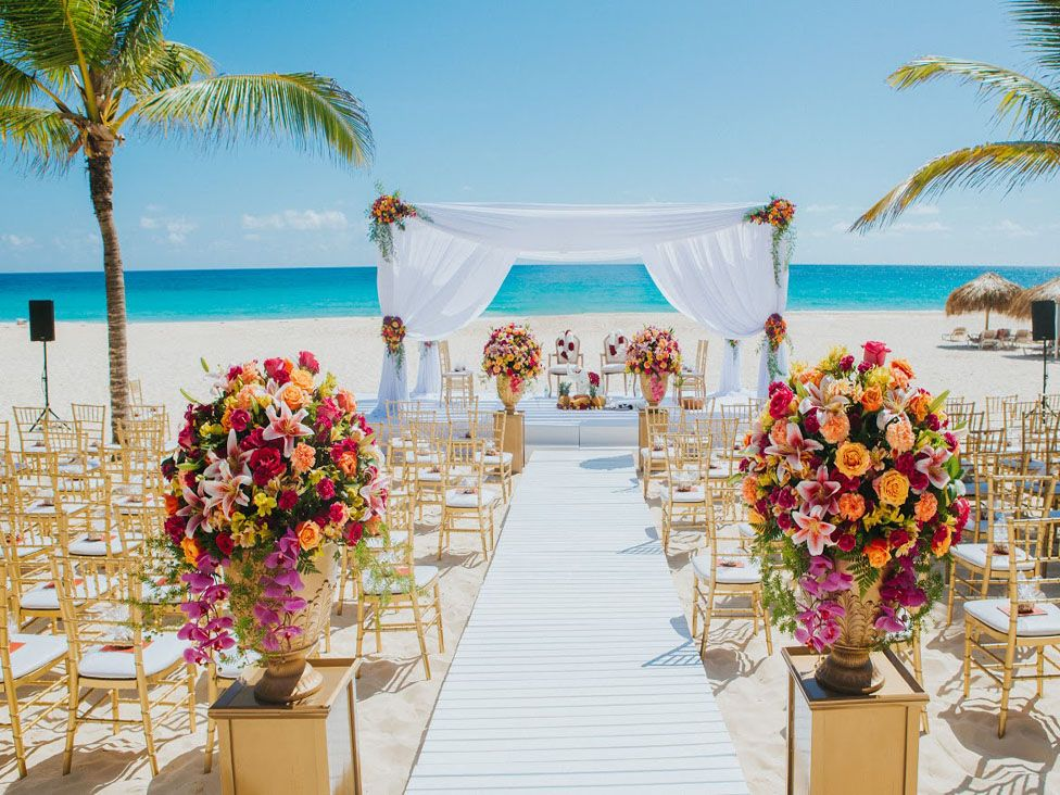 beach+wedding+at+hard+rock+hotel+&+casino+punta+cana | wedding