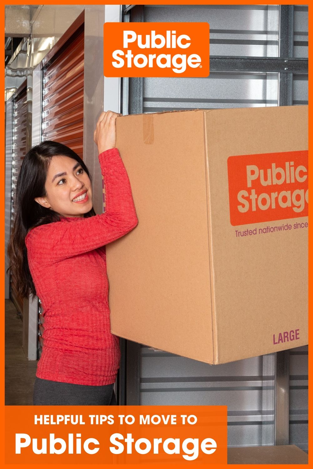 5 ways to prep for your move to a public storage unit in