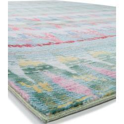 Photo of benuta short pile carpet Visconti green 200×300 cm – modern carpet for living room benuta