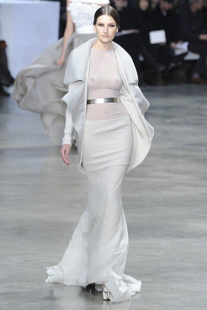 Silver Belt at Stéphane Rolland Spring Summer Couture 2013 #HauteCouture #HC #Fashion