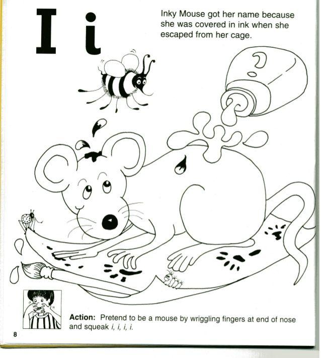 Jolly Phonics Workbook 1 | Jolly phonics, Jolly phonics songs, Phonics
