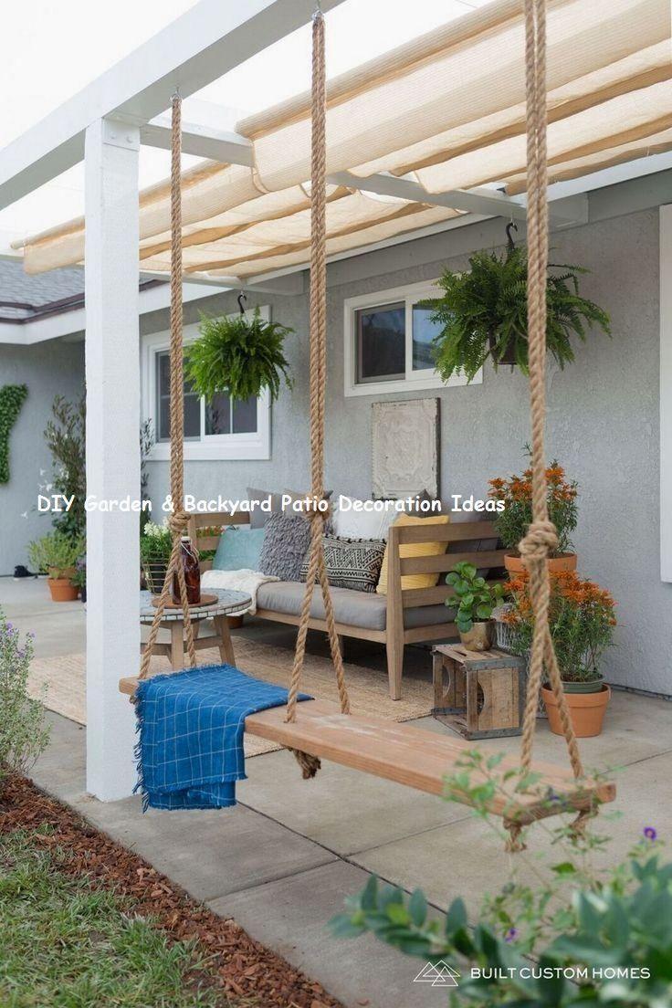 New And Cheap Garden Backyard Patio Furniture Ideas Diy Garden Outdoor Patio Decor Small Patio Garden Diy Patio
