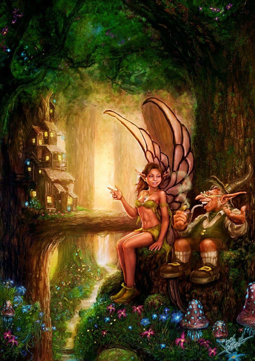 так умные картинки с феями и эльфами узнать, как