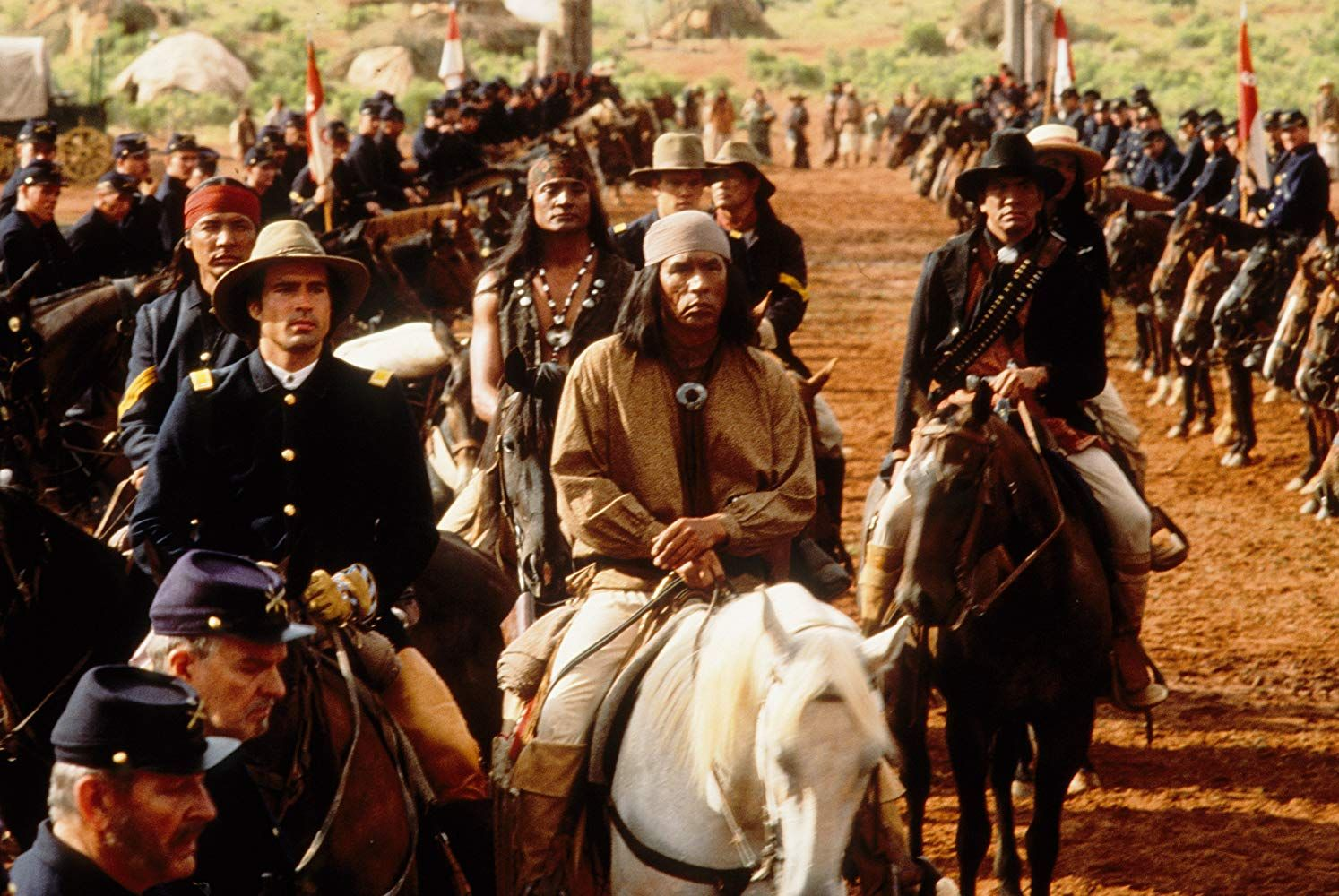 Jason Patric And Wes Studi In Geronimo An American Legend 1993 American Legend Geronimo Western Movies