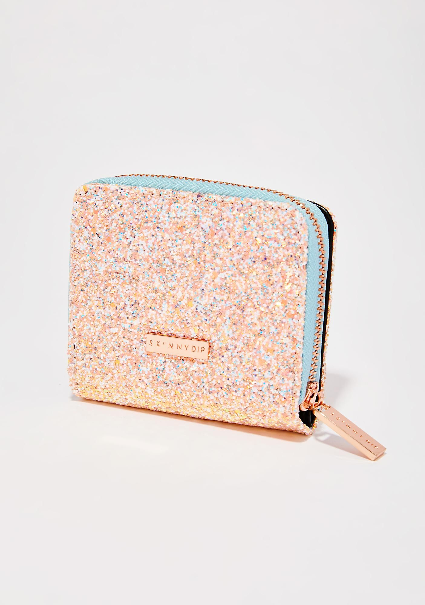 3870e03c1b Skinnydip Ditsy Wallet cuz you're down for the glitz N' glamour ...