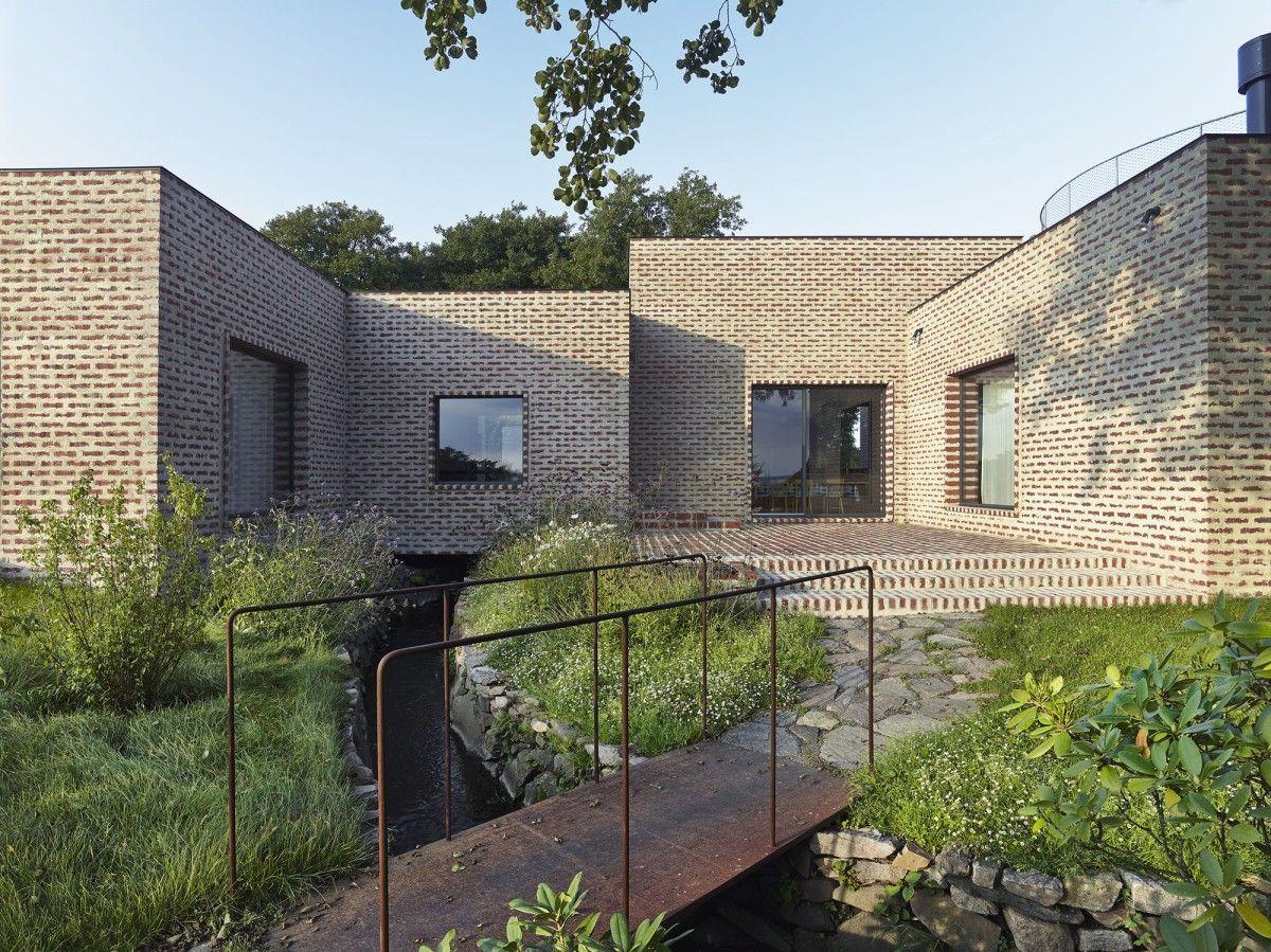"sheslostctrl ""Creek House, Sweden by Tham & Videgard"