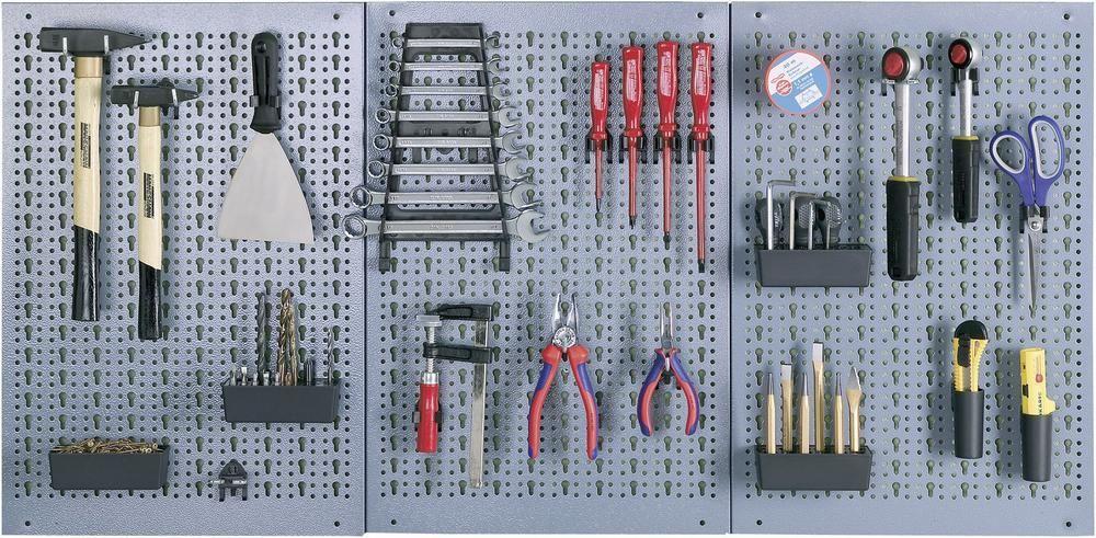 Küpper 70100 Plaatstalen Perforatiewand B X H 120 Cm X 60