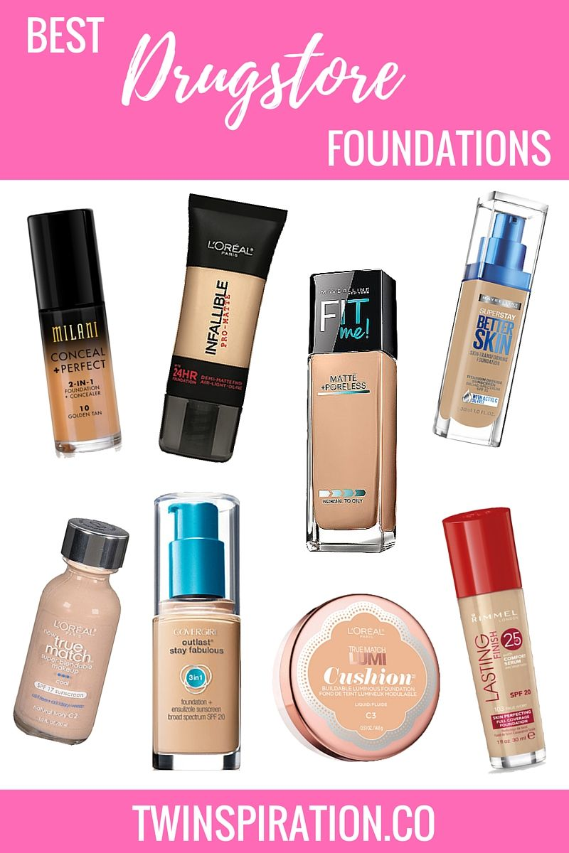 Best Drugstore Foundations ☆ beauty bloggers Drugstore