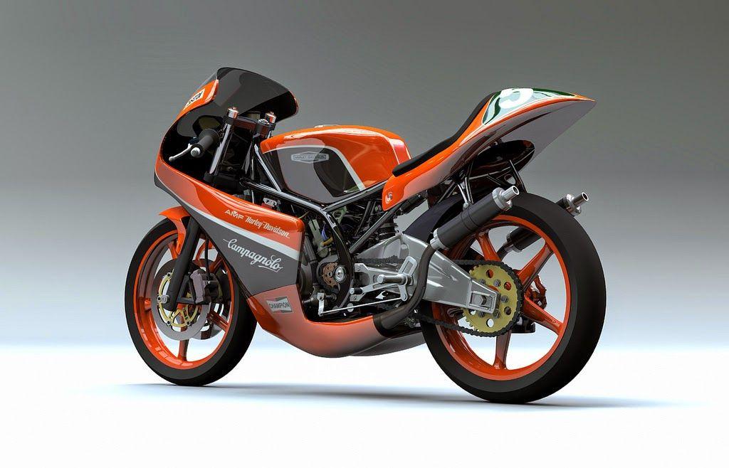 Racing Cafè Racing Concepts HarleyDavidson RR 250