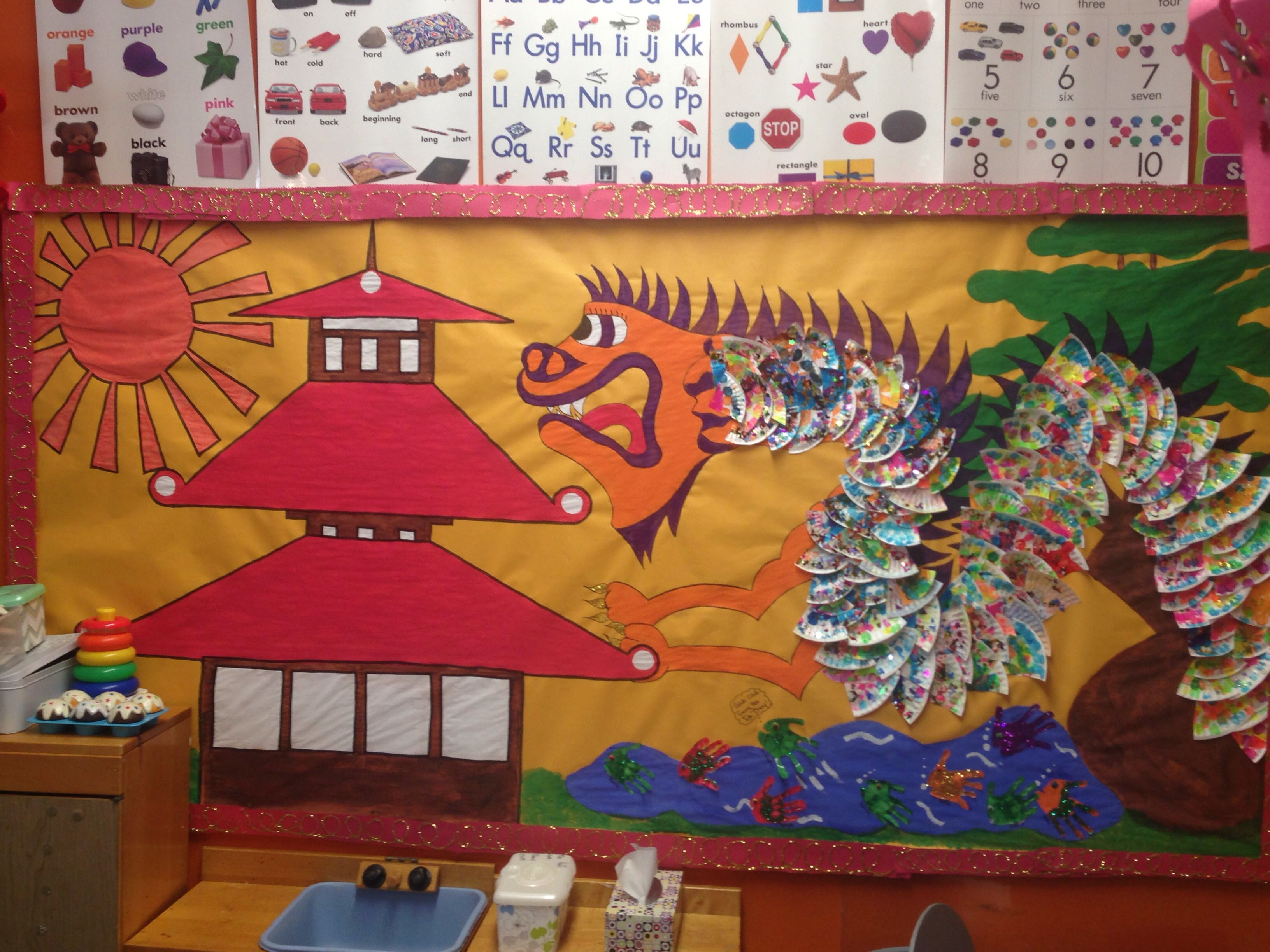 Asian New Year - dragon   Chinese new year crafts, Dragon ...