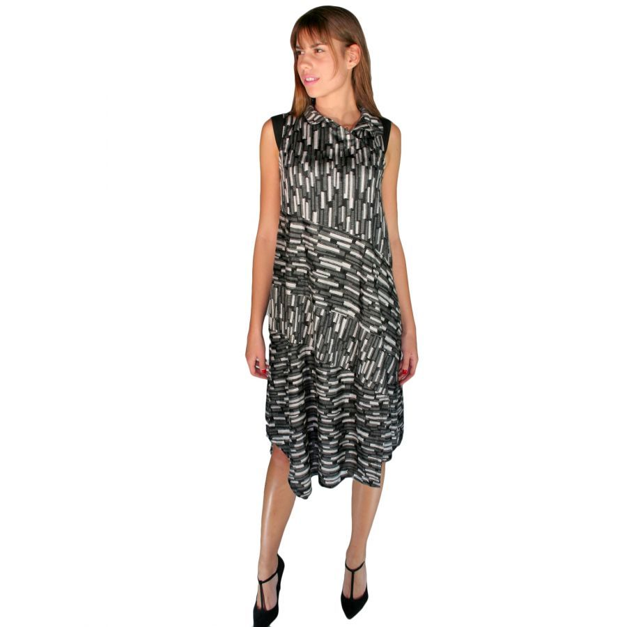 67a8fef71a79 ALE Εμπριμέ φόρεμα