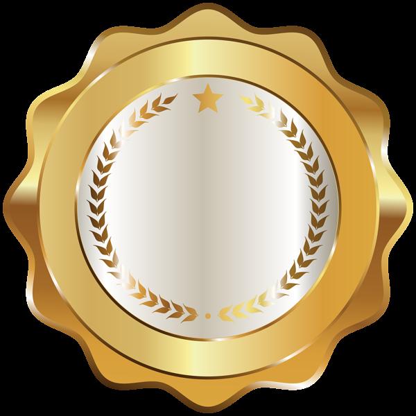 Seal Badge Gold Decorative Transparent Image elgar