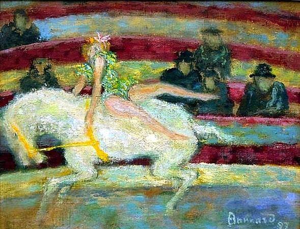 L'écuyère (Musée Faure d'Aix-les-bains)