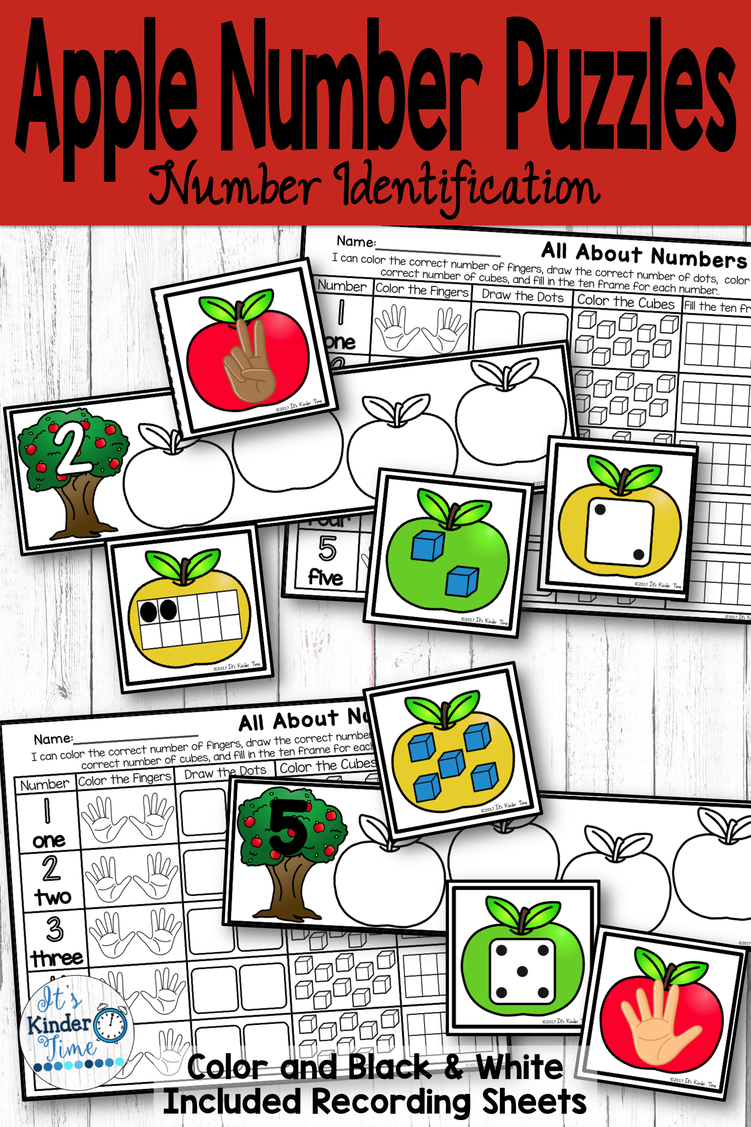 Identifying Numbers And Matching A Given Set To The Correct Number Math Activities Homeschool Programs Math Resources [ 2249 x 1499 Pixel ]