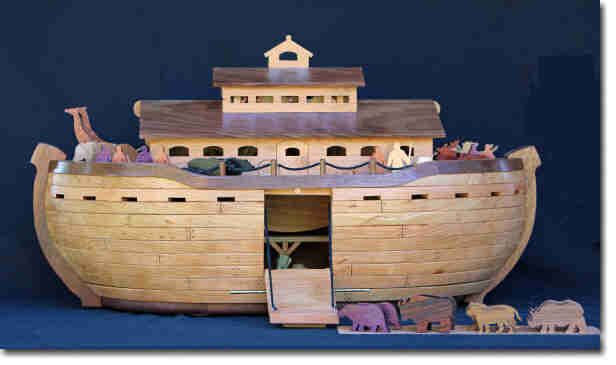 Noah S Ark And Animals Woodworking Plan Woodworking Plan Noahs Ark Craft Noahs Ark