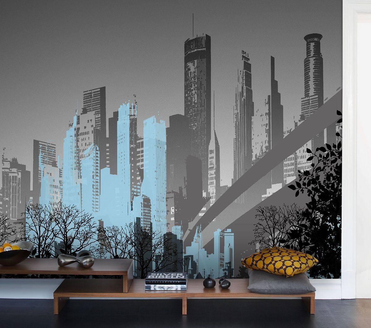 Create a feature wall with stunning wallart and learning