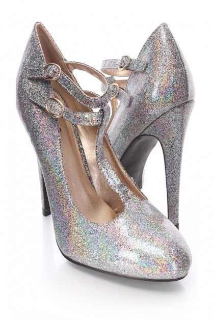 Mckensie Luxury Holographic High Heels