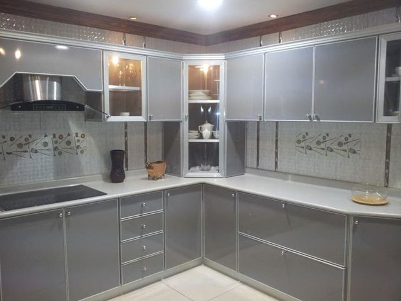 Cuisine En Aluminium Moderne in 12  Kitchen furniture design