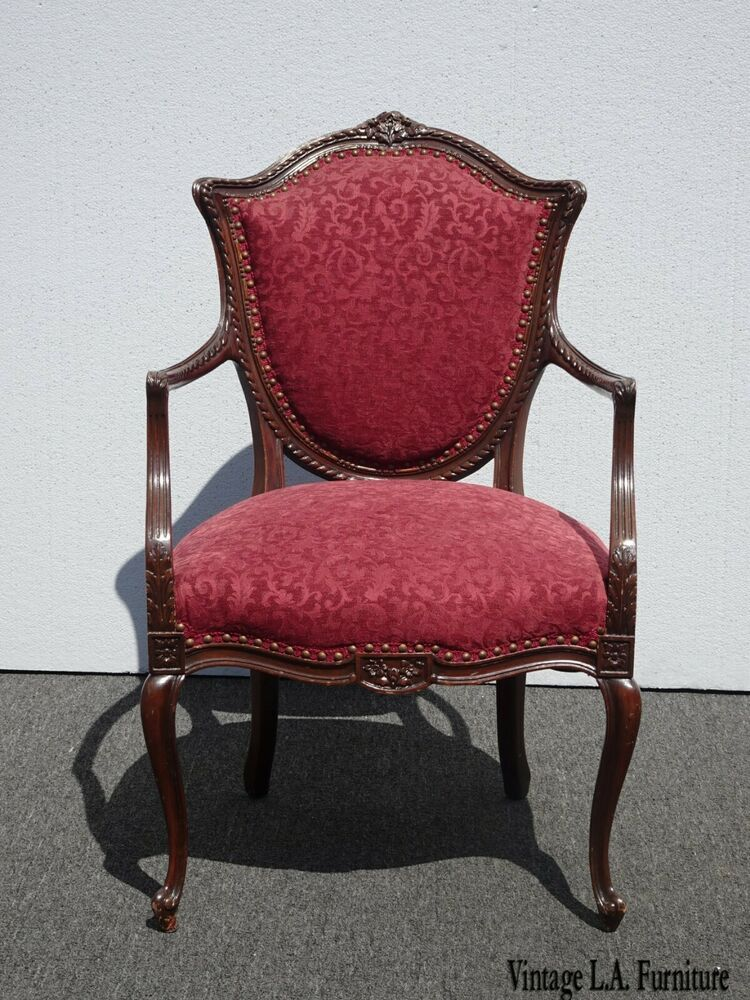 Best Antique French Louis Xvi Red Burgundy Ornately Carved 640 x 480
