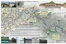 Trout Fishing In Tennessee Map.Tennessee Fly Fishing Map Hiwassee River Mike S Fly Fishing
