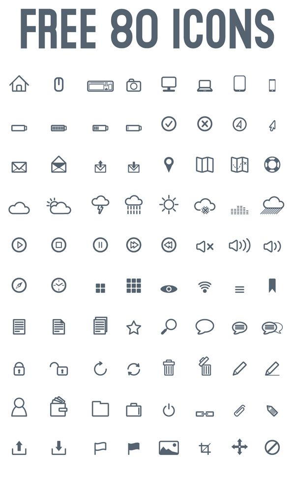 En haut Pixeli Icons Pack (80 Icons) | Free Icons for Designers @RV_33