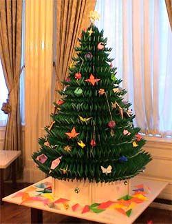 Big Christmas Tree Origami Origami Christmas Tree Christmas Origami Big Christmas Tree