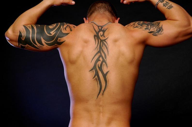 Resultado De Imagen Para Tatuaje En La Espalda Para Hombre
