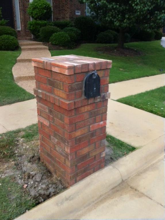 Column Mailbox Repair In Plano Tx And Surrounding Communities Brick Mailbox Brick Columns Mailbox