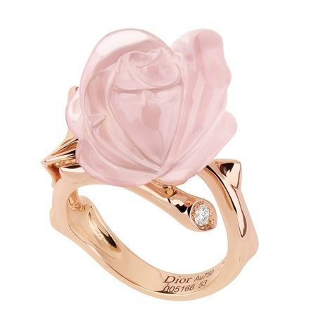 852121fb92 Rose Dior Pré Catelan ring, small model, in 18k pink gold and pink ...