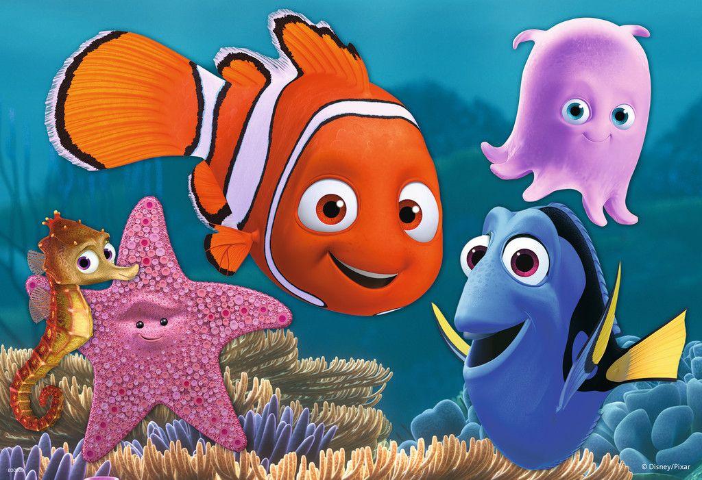 Finding Nemo Disney Walt Disney Movies Fish Animation: Finding Nemo 2x12pc