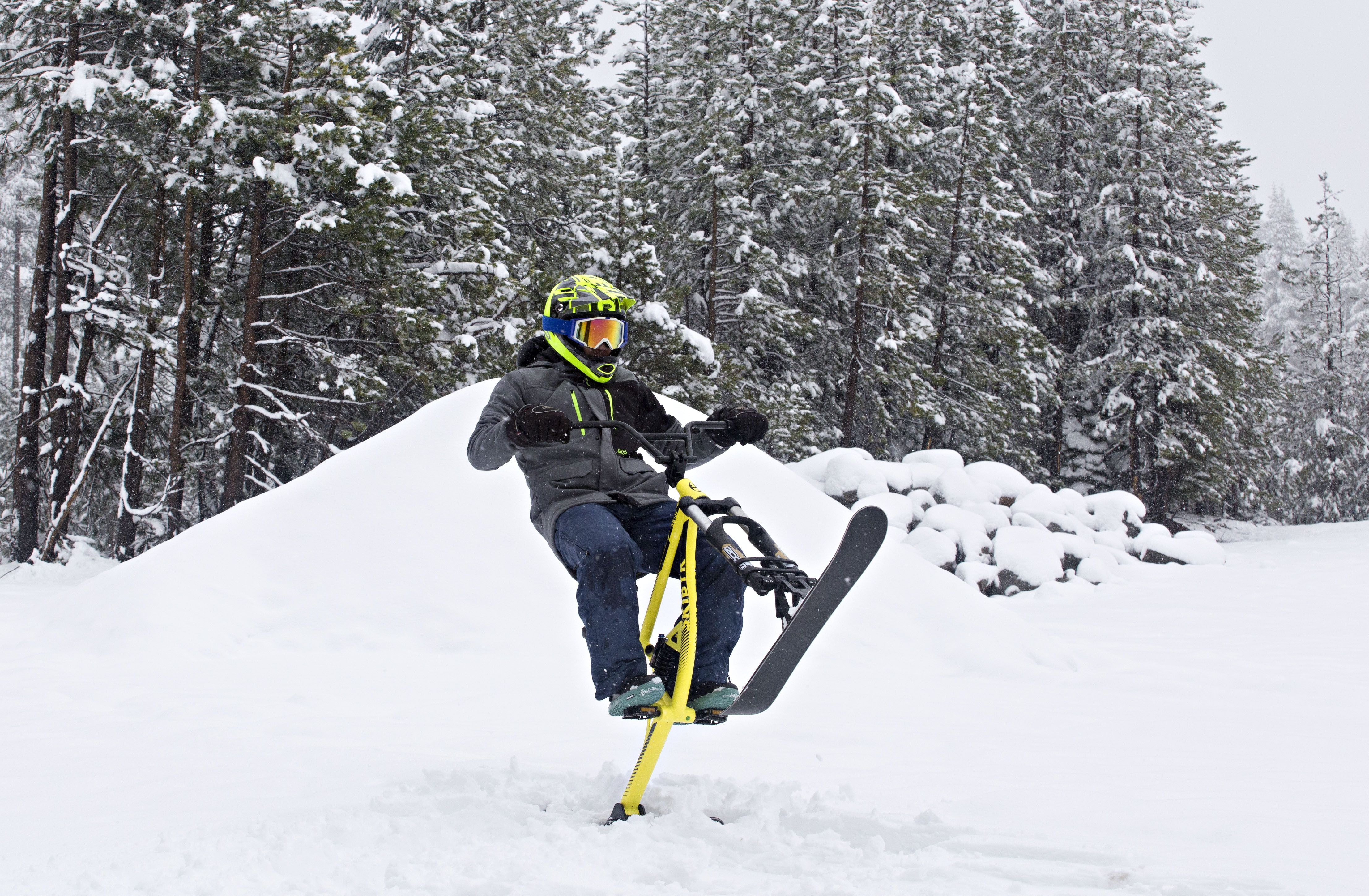 Skibyk Sb100 All Mountain Ski Bike All The Performance You D