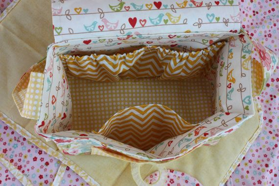 Trendy Doll Diaper Bag Pattern PDF by MixiHeart on Etsy | craft ...