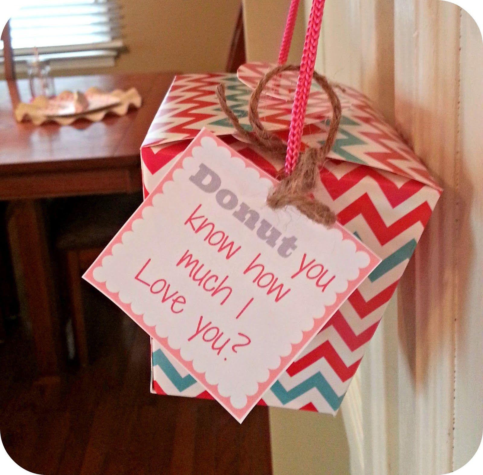 Valentine's gift ideas for him. Free Valentine's printable ...