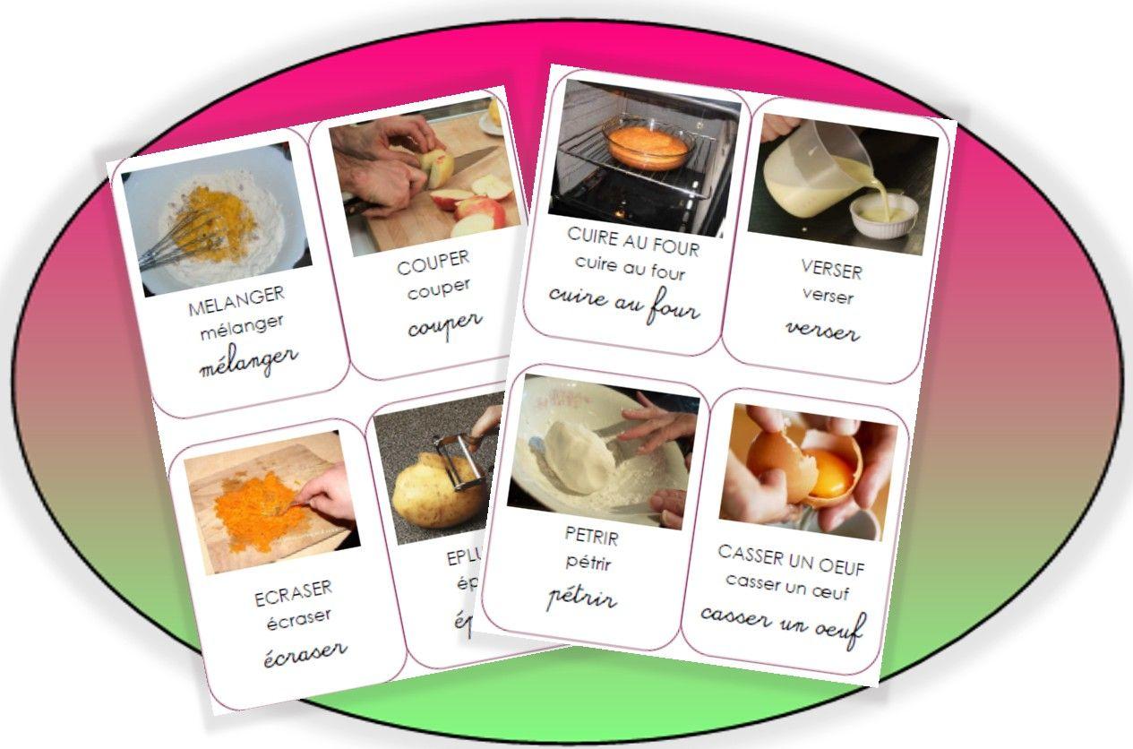 Imagiers les m tiers images pinterest imagier for Materiel culinaire et ustensiles de cuisine