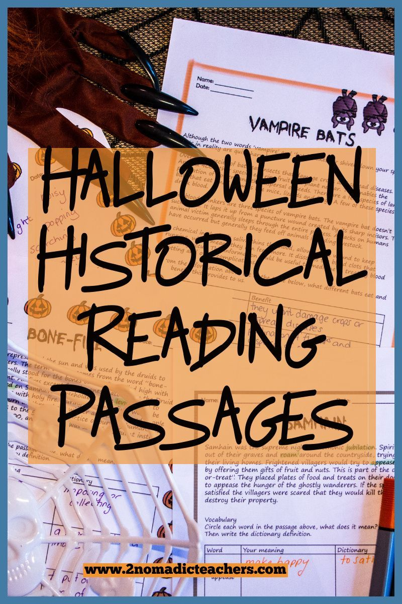 Halloween History Reading Passages Questions And Activities Reading Passages Halloween Reading Comprehension Passage Writing [ 1200 x 800 Pixel ]
